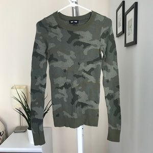 Express Camo Sweater